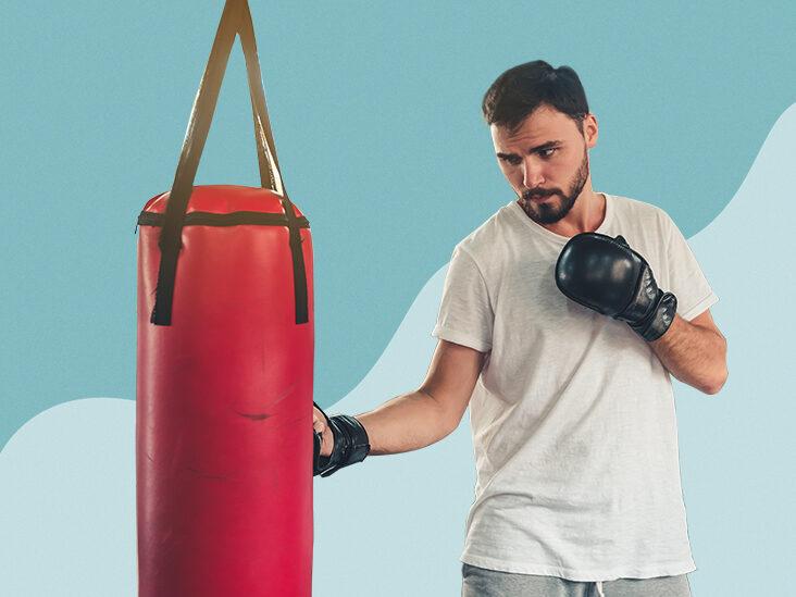 Boxing Sandbags Training